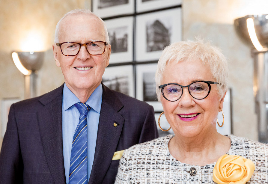 Dietmar und Margrit Harting, Vorstand der HARTING Technologiegruppe