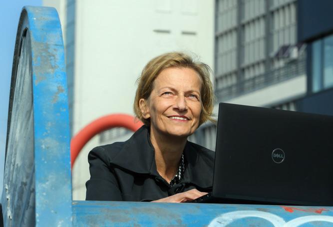 Gisela Hüttinger, HTW © WISTA Management GmbH