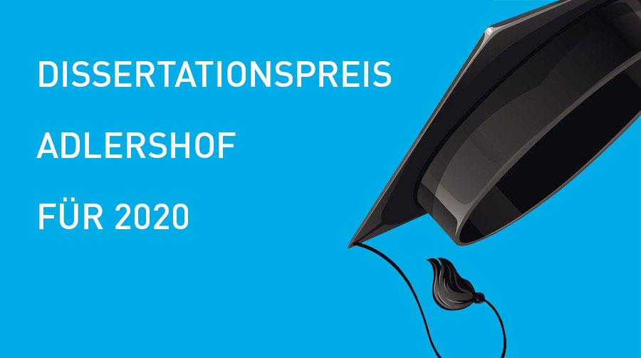 Dissertationspreis Adlershof, Doktorhut