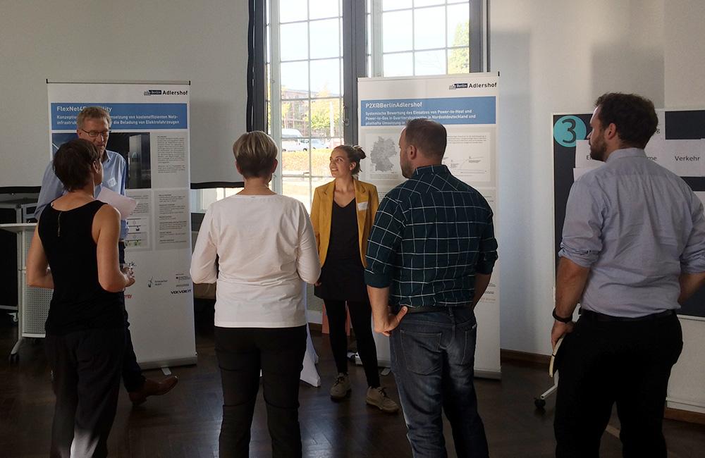 Marktplatz der Projekte, Station 3: Sektorkopplung: Regenerativer Strom im Wärme- und Verkehrsbereich