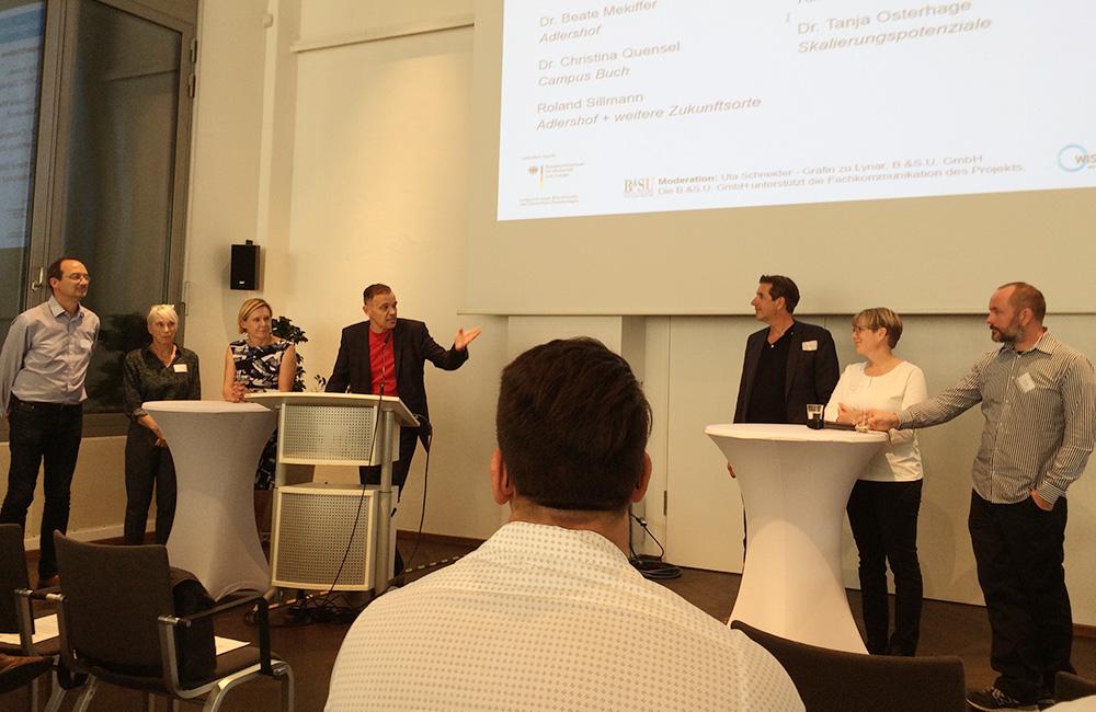 Podiumsdiskussion: Neue Aspekte für Quartierseffizienz